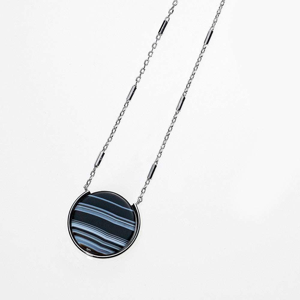 Reversible Moon Necklace-RH