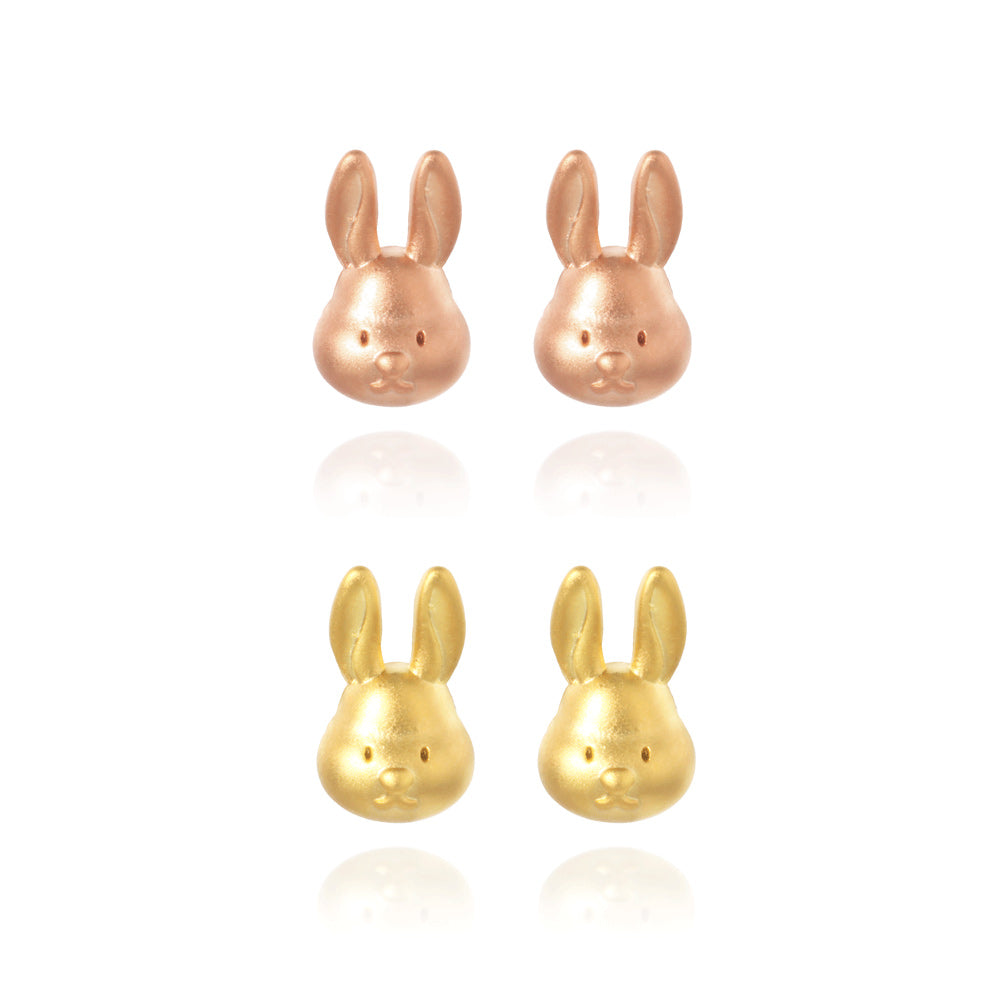 Rabbit Stud Earring