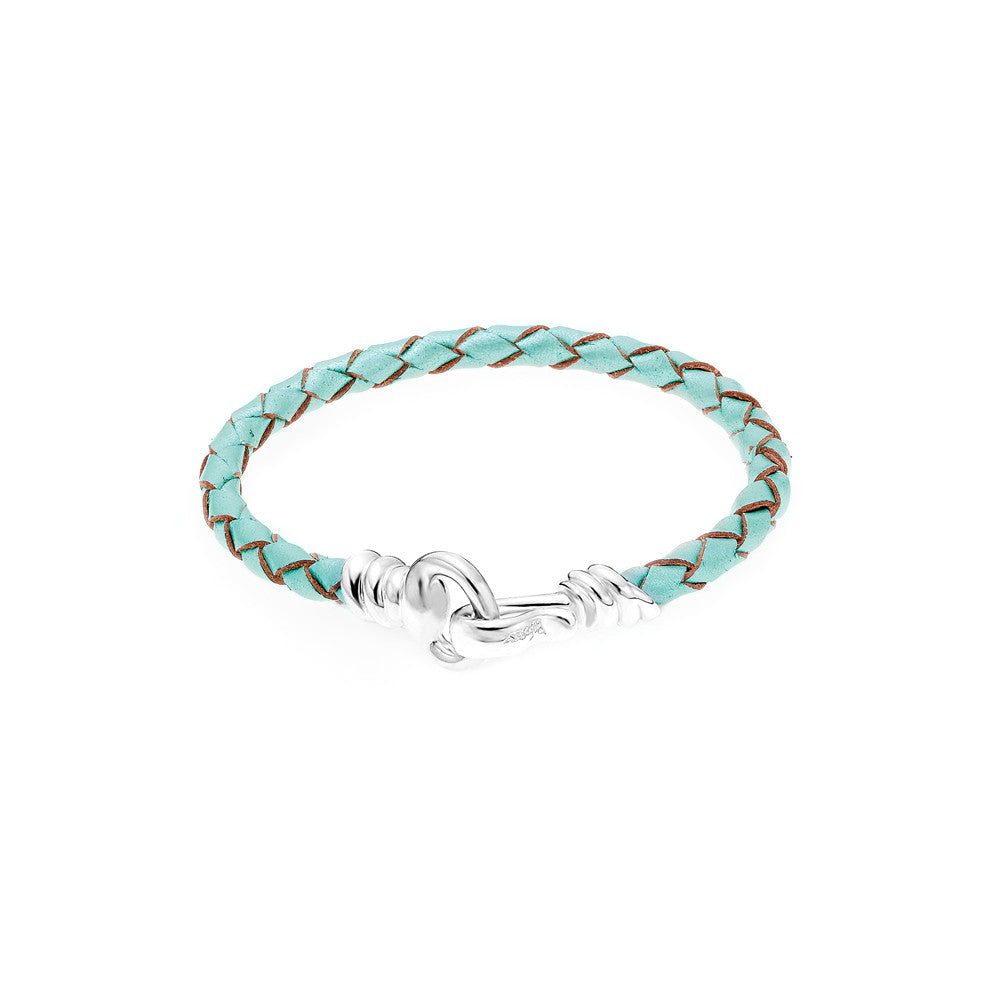 Love Hook Leather Bracelet-MINT