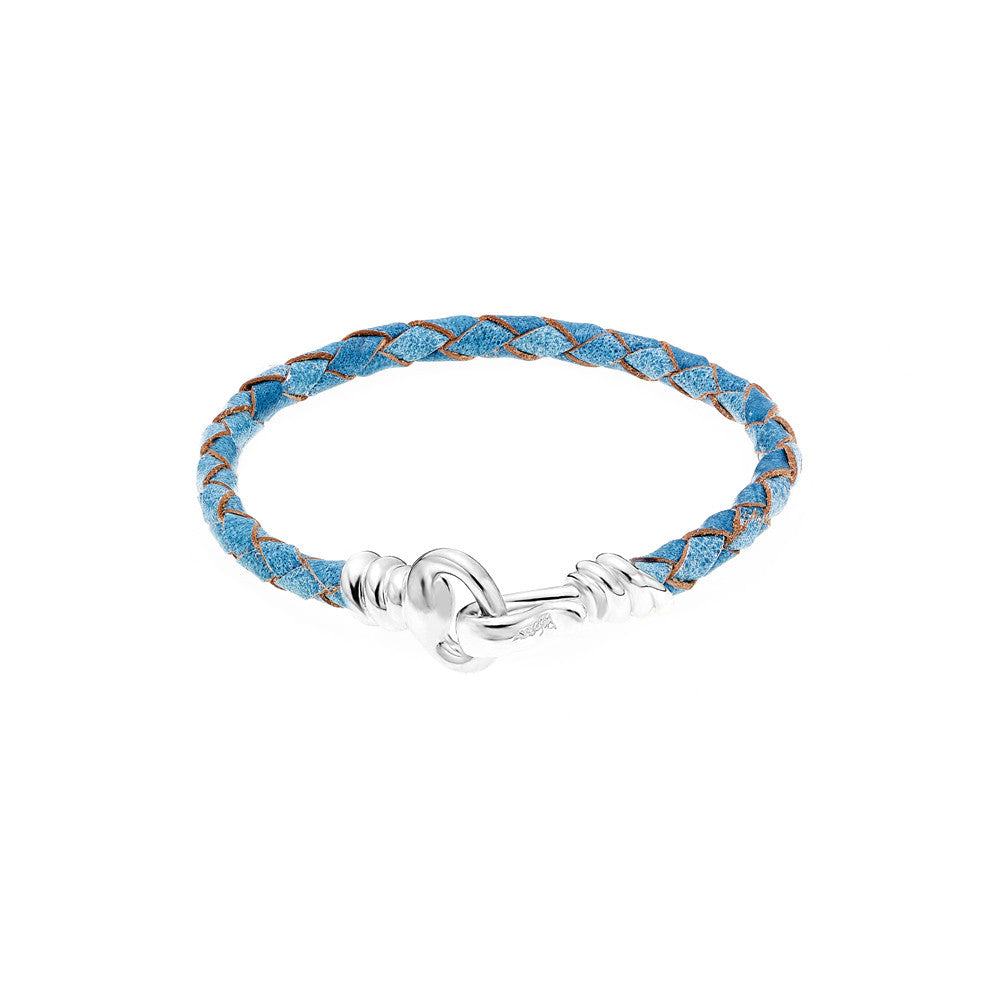 Love Hook Leather Bracelet-TURQUOISE