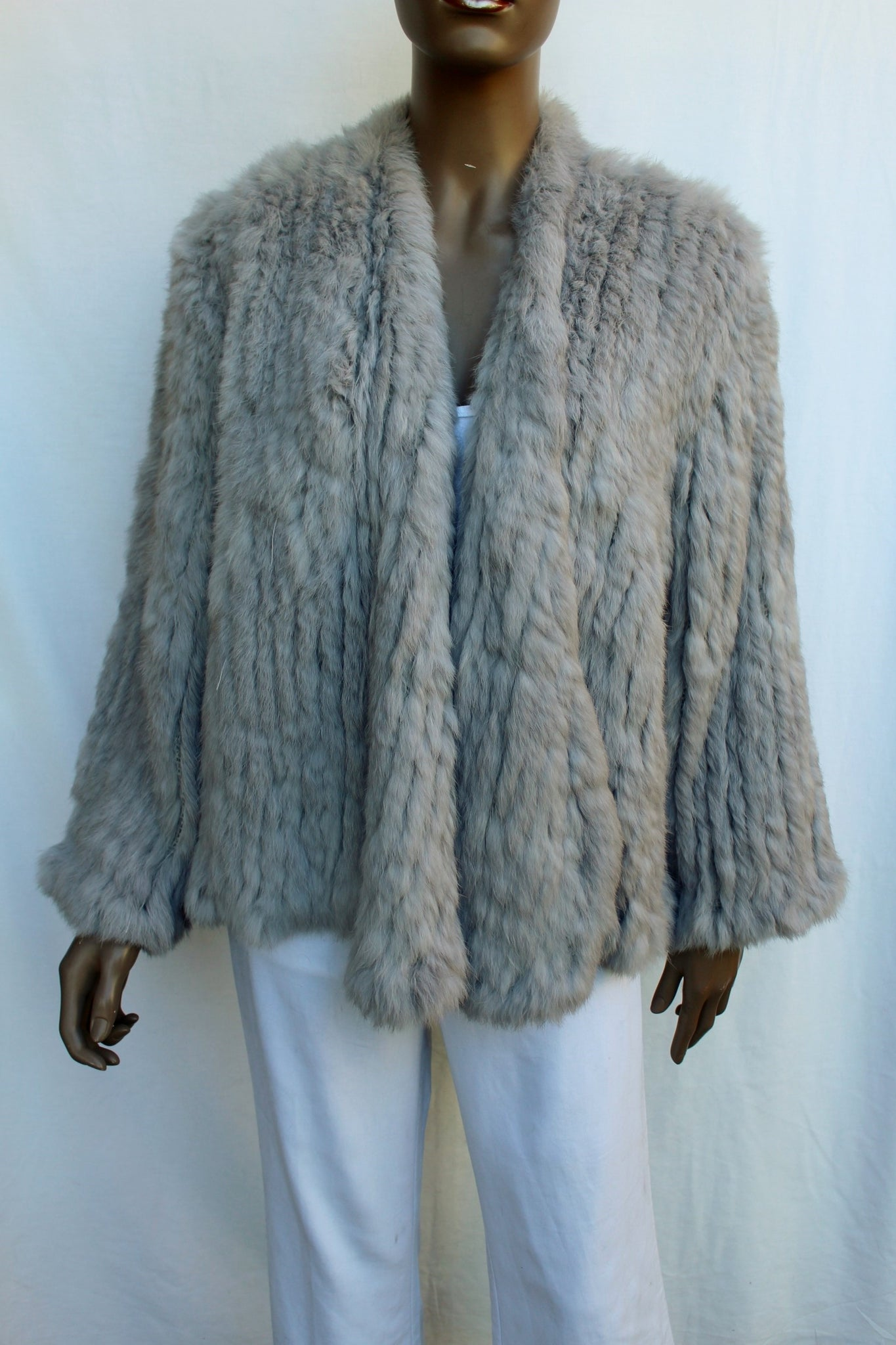 Rabbit Fur Large Jacket
