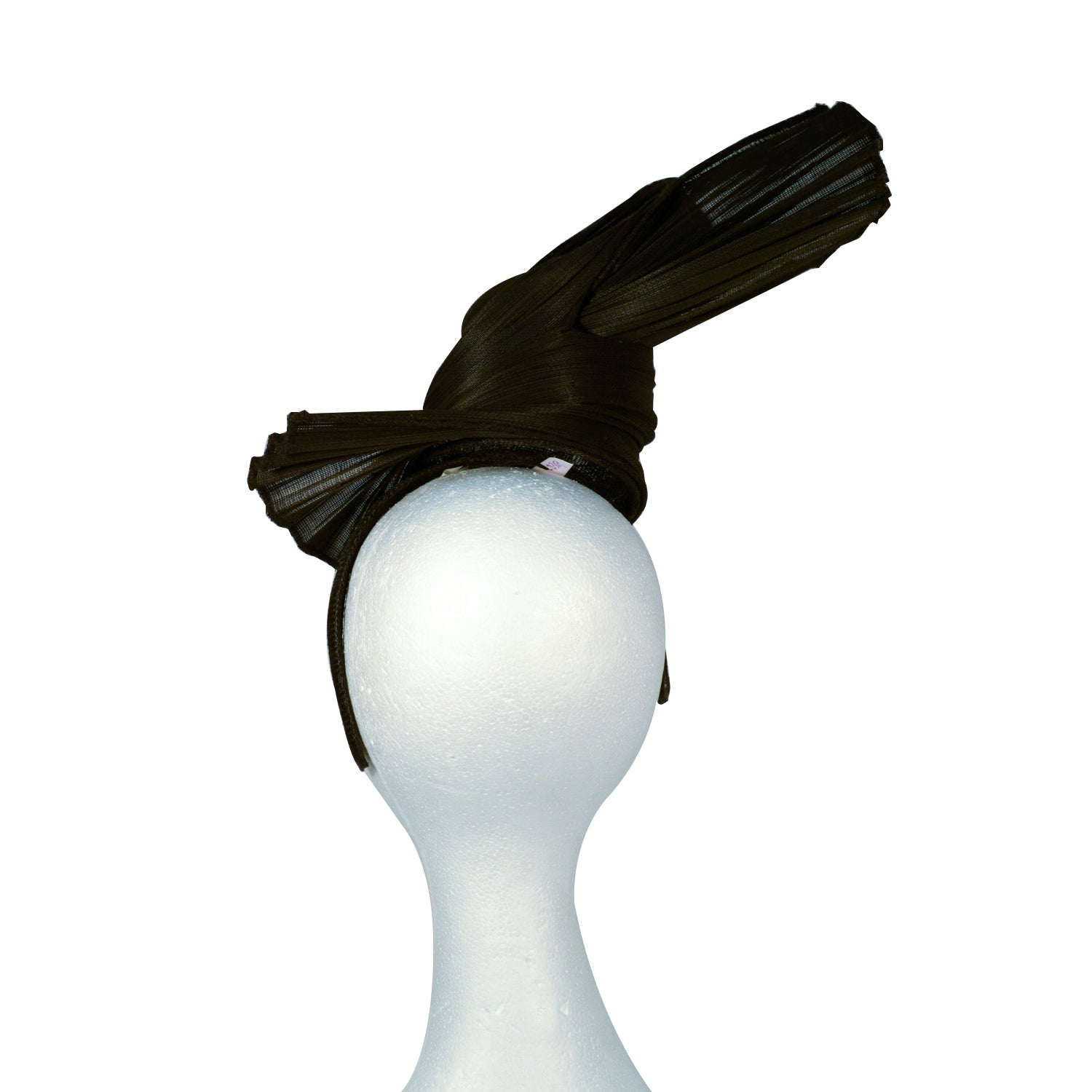 Black twister fascinator