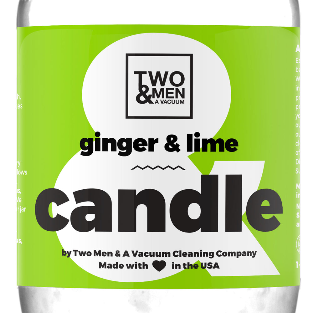 Candle Ginger & Lime 16oz