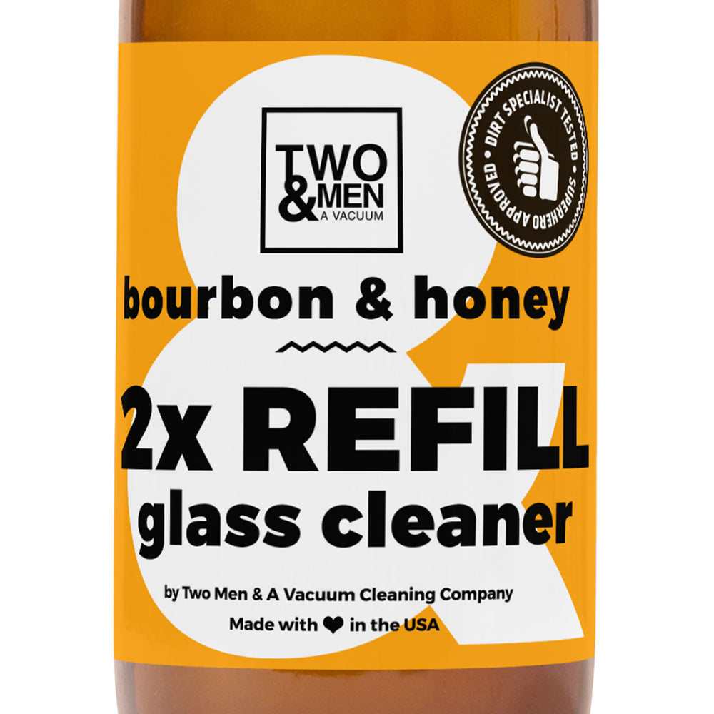 Glass Cleaner Bourbon & Honey 32 oz