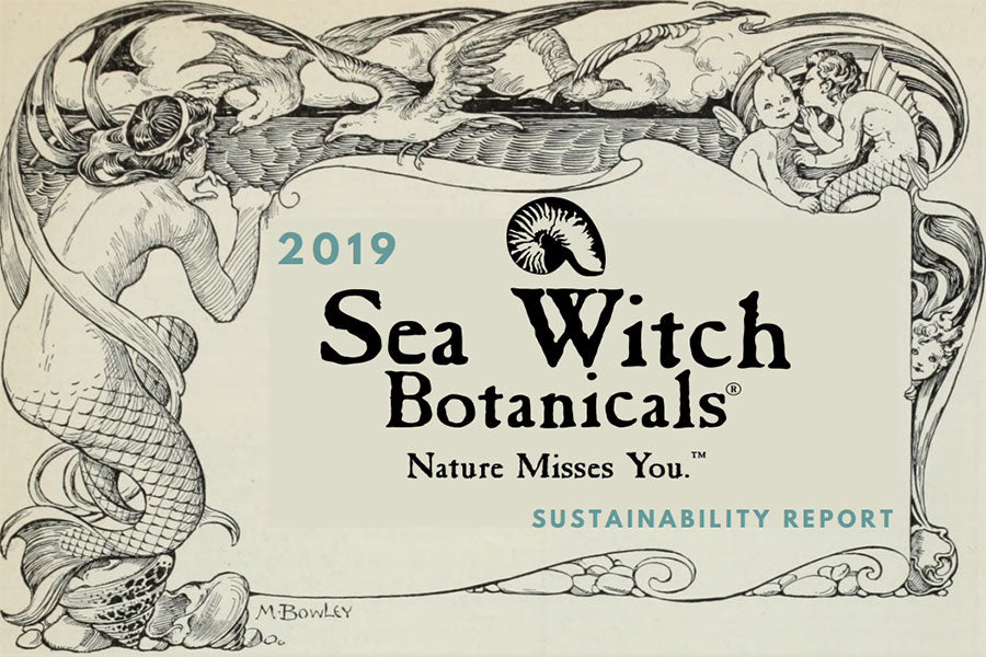 View our 2019 Sustainability Report for Sea Witch Botanicals