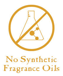 No Synthetic Ingredients or Fragrance Oils