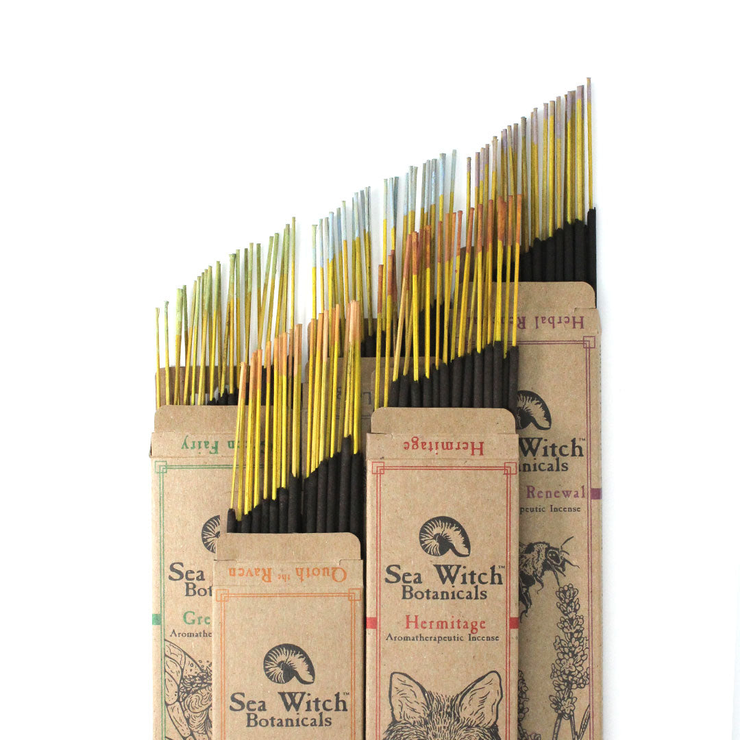 All Natural Sea Witch Botanicals Incense which is a Certified B Corporation