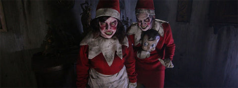 evil elves working for krampus at the portland krampus haunted christmas