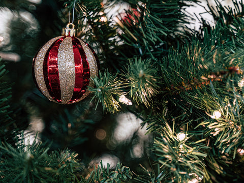 Decorating trees with lights and ornaments is an old Yule tradition