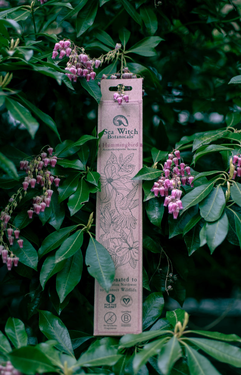 Top Shelf All Natural Incense: Hummingbird - with Ylang Ylang, Citrus & Peppermint