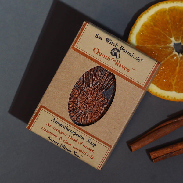 Artisan Soap: Quoth the Raven - Orange Spice, Cinnamon, Clove