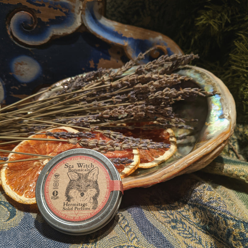 Pisces Water Sign Hermitage Solid Perfume