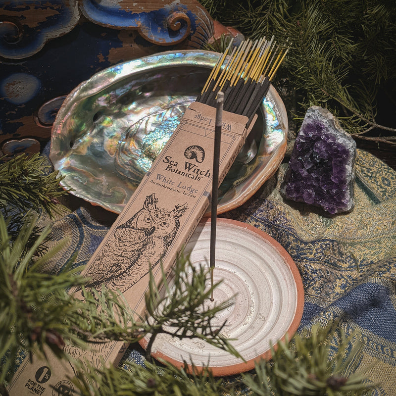 Pisces Water Sign White Lodge Incense