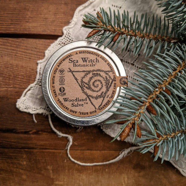 Woodland salve restorative folk remedy salve
