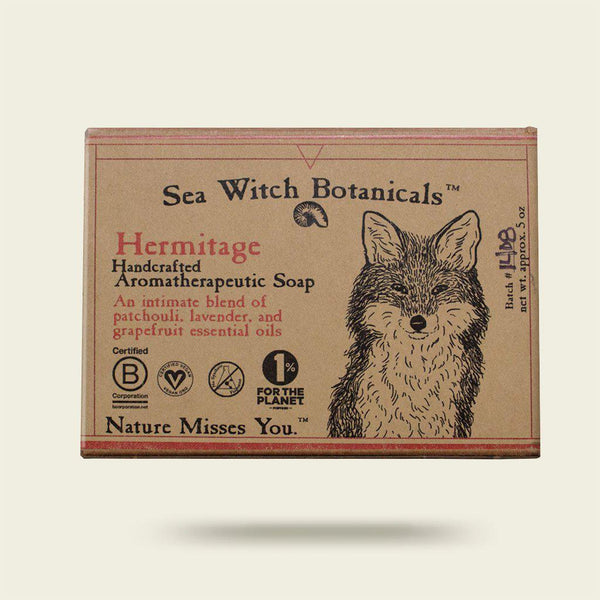 Hermitage Cold Process Artisan Soap from Sea Witch Botanicals - Patchouli Spice