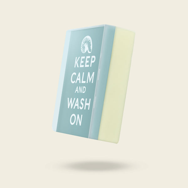Print Soap: Keep Calm & Wash On Hand Soap-Body Soap-Sea Witch Botanicals-Sea Witch Botanicals