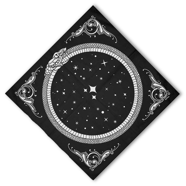Ouroboros bandana by Nikol King