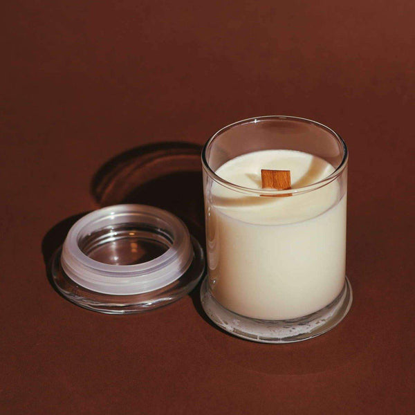 Candle: Unscented-Vegan, Soy