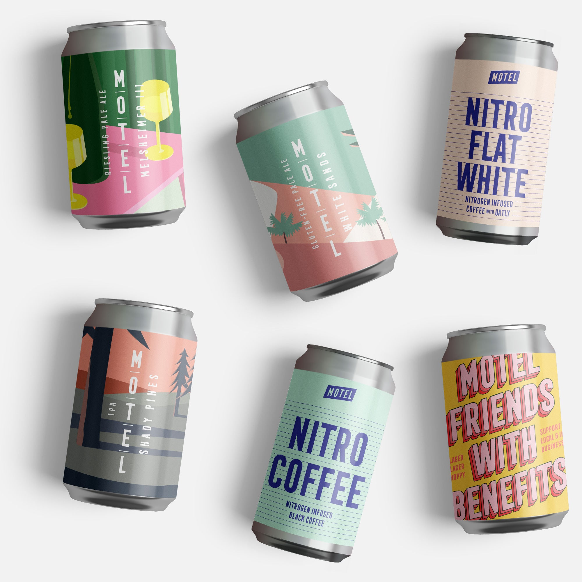 Tasting Pack – Beer & Nitro Coffee (6 / 12)