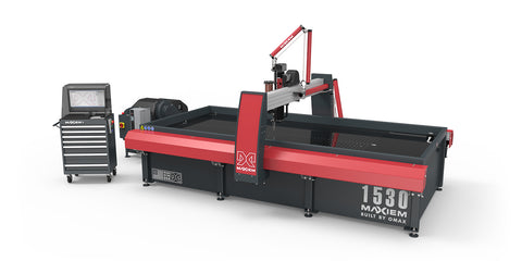 Omax Maxiem WaterJet Cutting Machine