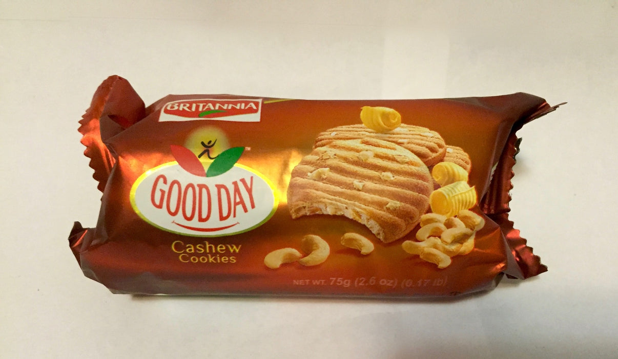 Britannia Good Day Cashew Cookies 75gm