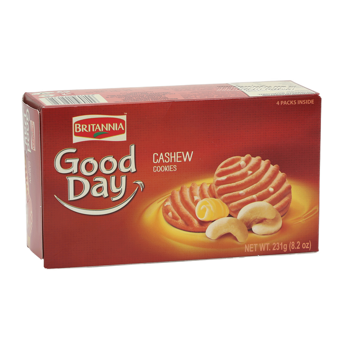 Britannia Good Day Cashew Cookies231gm