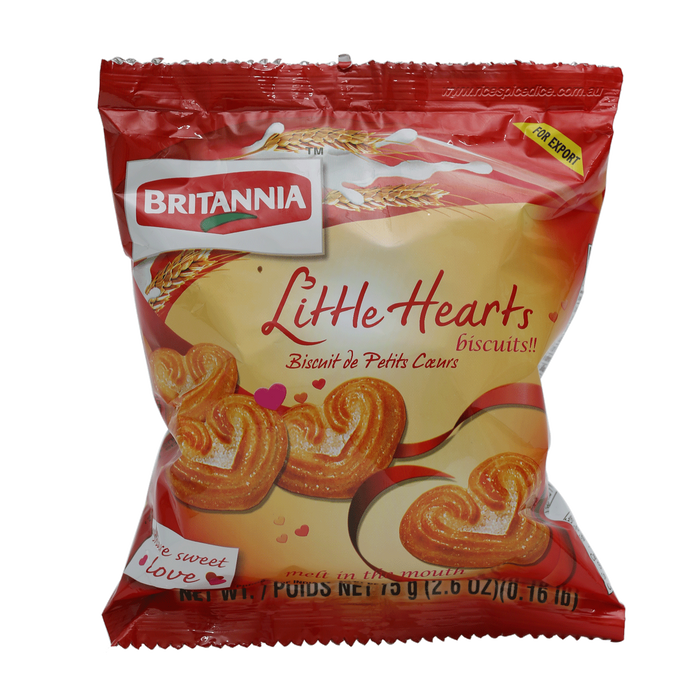 Britannia Little hearts 75Gm