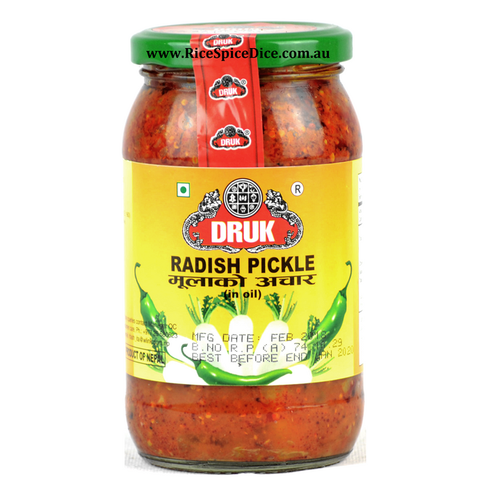 Druk Radish Pickle 400gm