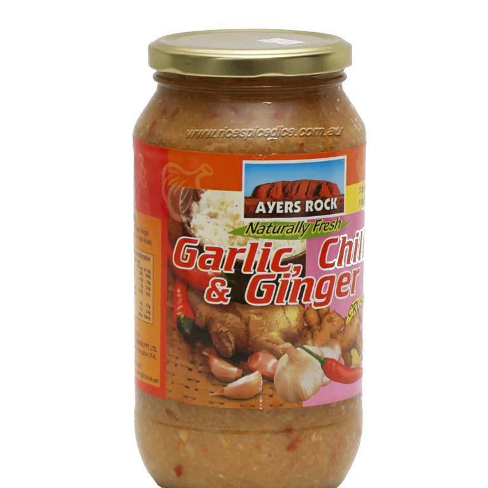 Ayers Rock Garlic Ginger Chilli 375gm