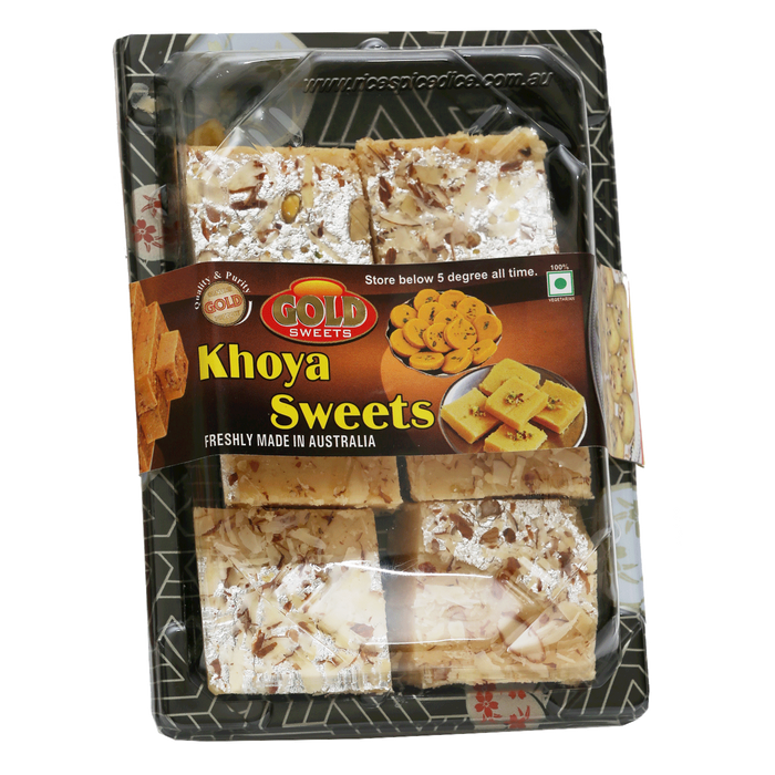 Gold Sweets Khoya Burfi 250gm