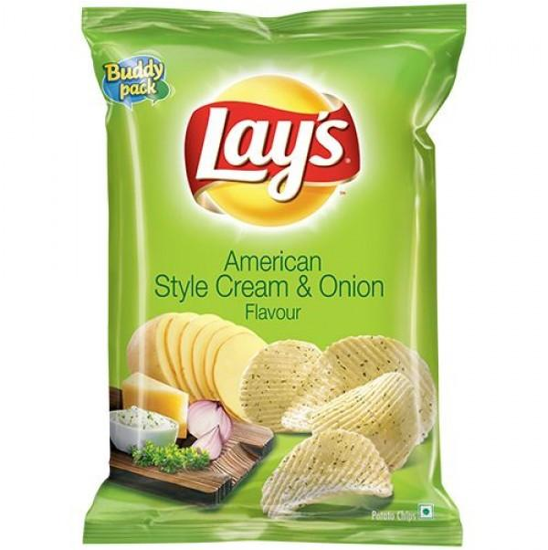 Lays American Cream and Onion 52gm