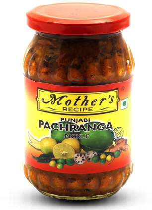 Mothers Punjabi Pancharanga Pickle 500gm