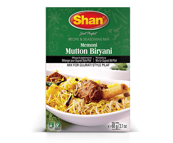 Shan Memoni Mutton Biryani 60gm