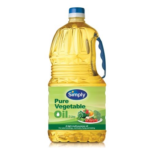 Simply Vegetable Oil 2ltr