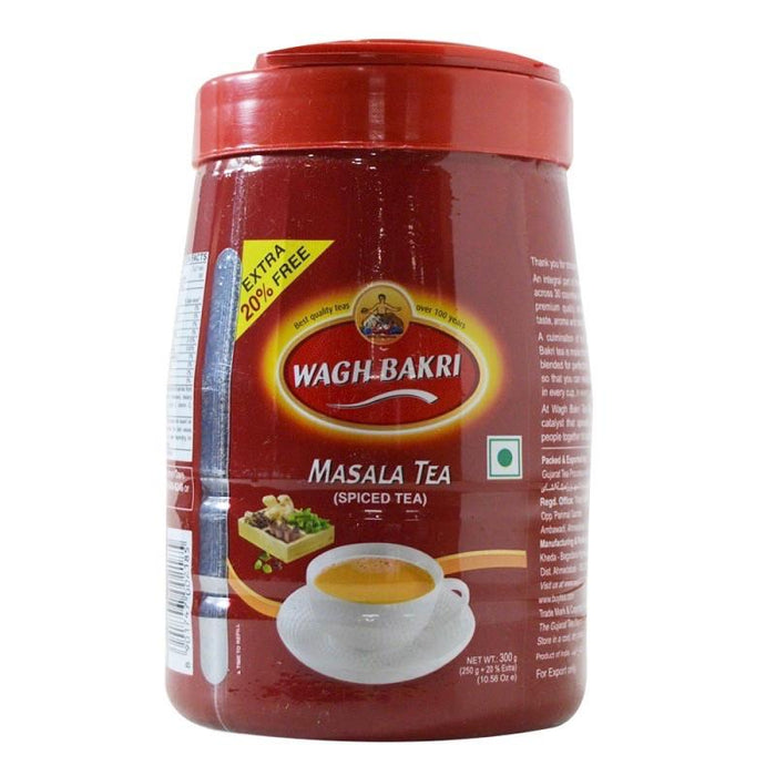 Wagh Bakri Masala Tea Jar 300gm