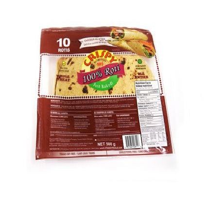 Crispy roti whole wheat 10pc
