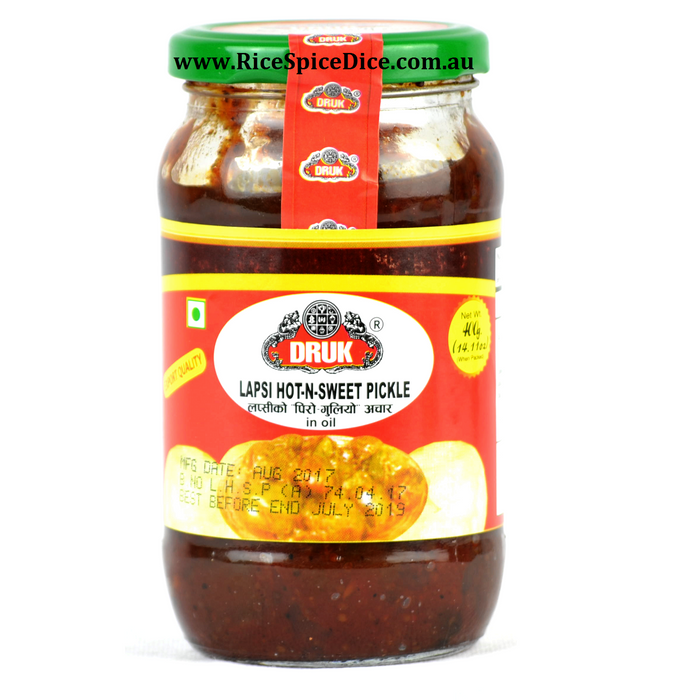 Druk Lapsi Hot n Sweet Pickle 400gm