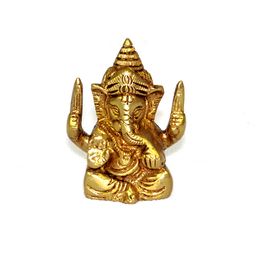 Solid Brass Ganesh Jee Statue