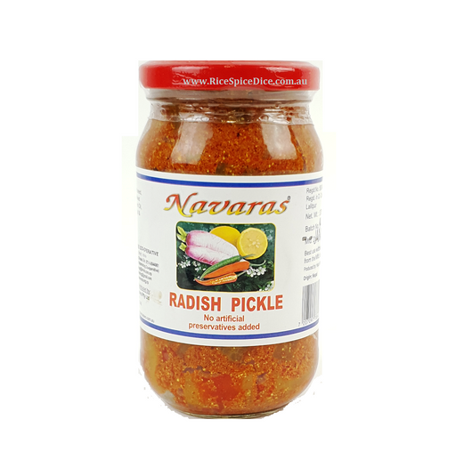 .Navaras Raddish Pickle 375gms