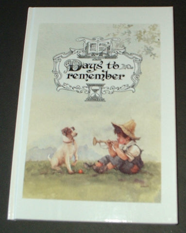 Days to Remember - Day Book/Journal/Diary - Signed by the Artist