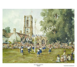 Maypole Dancing, Curry Rivel, Somerset