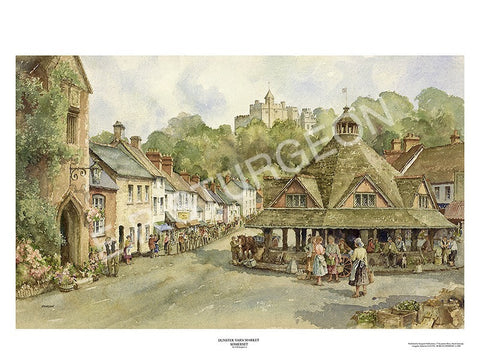 Yarn Market,Dunster, Somerset