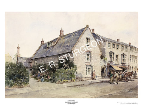 Cheapside, Langport, Somerset