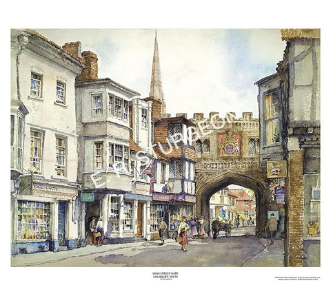 High Street Gate 1, Salisbury, Wiltshire