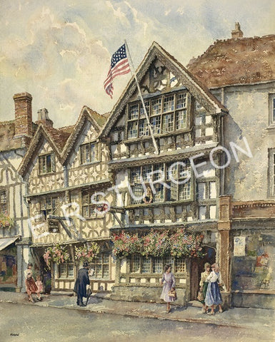 Harvard House, Stratford on Avon, Warwickshire