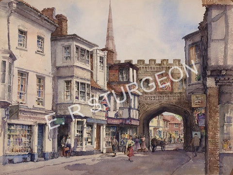 High Street Gate, Salisbury, Wiltshire