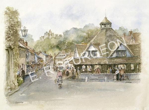 Dunster, Somerset, Exmoor