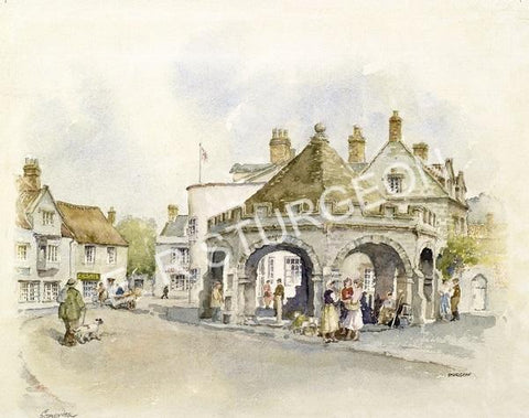 Somerton, Somerset (Small)