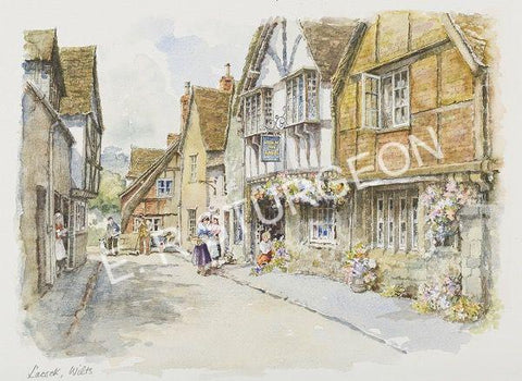 Lacock - Hand Tinted