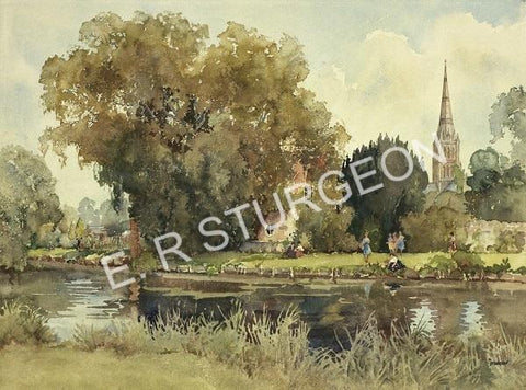 By the River - Salisbury, Wiltshire